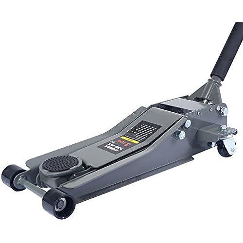 Buy Goplus Floor Jack w/ Rapid Pump Quick Lift 3 Ton Garage Service Jack