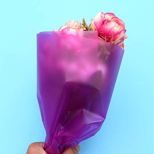 NUOBESTY 20枚花束花束包装紙マット花包装シート装飾花束包装ティッシュペーパー用品店バレンタインデー