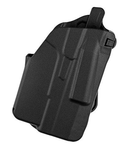 (Safariland 7371 7TS ALS Slim, Concealment Holster w/Micro-Paddle, SafariSeven Black, Right Hand, Glock 43 w/Streamlight TLR-6)