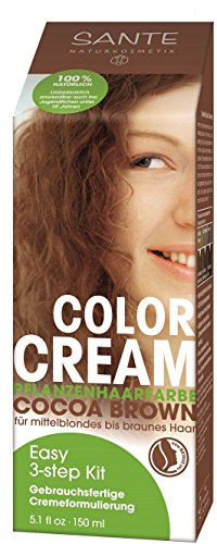 Sante Naturkosmetik Color Cream Pflanzenfarbe cocao brown 150ml, 1er Pack (1 x 150 ml)