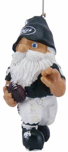 New York Jets Gnome Ornaments Pkg of 2