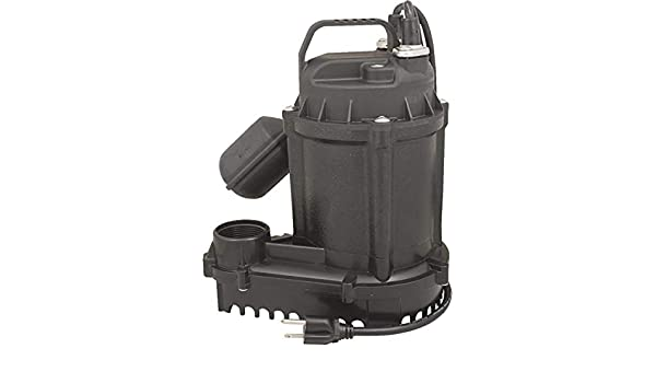 Flint Walling//Star 5STS Submersible Sump And Effluent Pump With Float Switch 1//2Hp