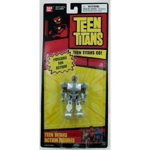 "BANDAI Teen Titans Cyborg 3.5"" Action Figure"
