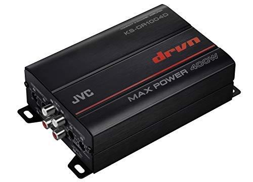 JVC KS-DR1004D 400 Watt 4-Channel Marine Amplifier for Polaris RZR//ATV//UTV//Cart