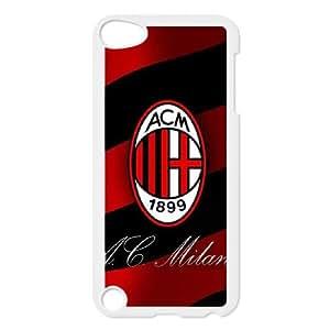 iPod Touch 5 Case White AC Milan Football Wydi