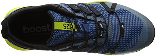 adidas Terrex Skychaser, Scarpe da Trail Running Uomo Blu (Core Blue/Core Black/Unity Lime)