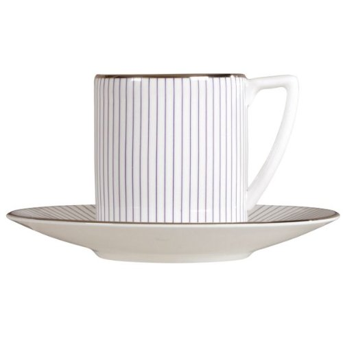 Wedgwood Jasper Conran Pinstripe Espresso Cup Saucer (Saucer Only)