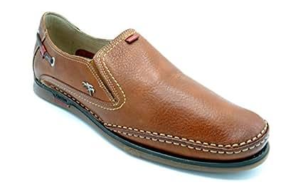 DQQ Slip-On De Punto De Las Mujeres De Barco Para Hombre Zapatos, Color Negro, Talla 36