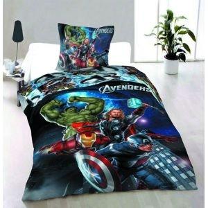 The Avengers   Parure de lit 1 personne 140x200 cm: Amazon.fr