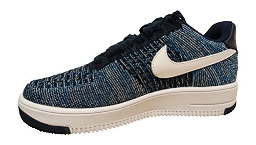 Nike Men's AF1 Ultra Flyknit Low Basketball Shoe Obsidian White Pure Platinum 400 good selling cheap online zG8dpDx6w