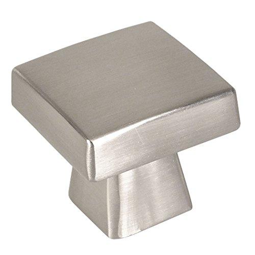 Contemporary Square Knob - Cosmas 5233SN Satin Nickel Contemporary Square Cabinet Knob