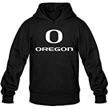 Men's Royce Freeman Oregon Ducks White Logo Hoodie Black