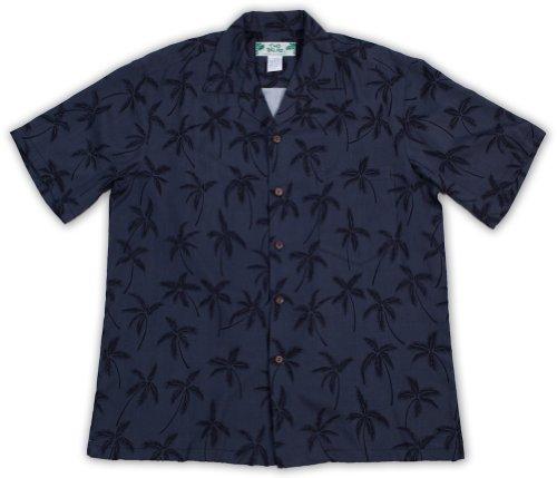 - Mens Hawaiian Shirt Palm Tree Series 100% Rayon