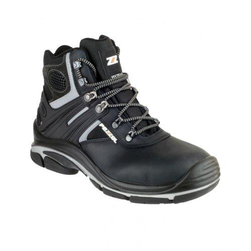 De Pezzol 566 Homme Noir Chaussures Tornado Sécurité Hi Montantes nPHFP