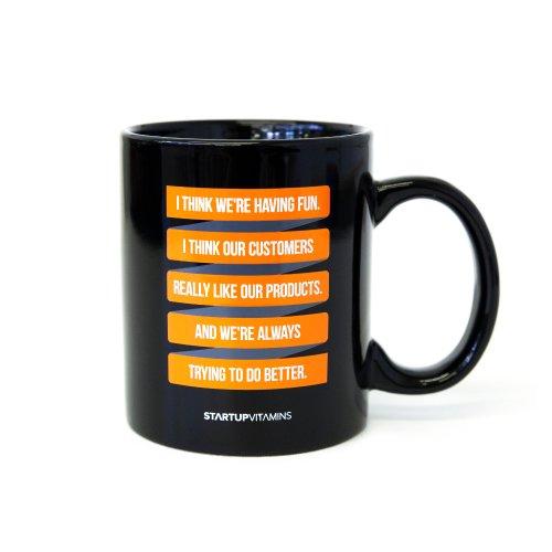 Coffee Mug I Think We're Having Fun - Steve Jobs' quote