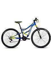 """Mercurio Bicicleta Ds Kaizer 29"""", Azul/Negro/Verde, Acero, 21 Velocidades, 2019"""