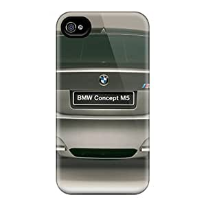 Cute Appearance Cover/tpu UXg3671EuDu Bmw M5 Concept Rear Case For Iphone 4/4s