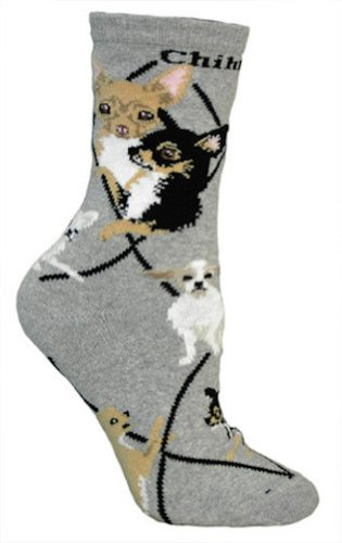 Breed Chihuahua (Chihuahua Puppy Dog Breed Animal Socks 9-11)