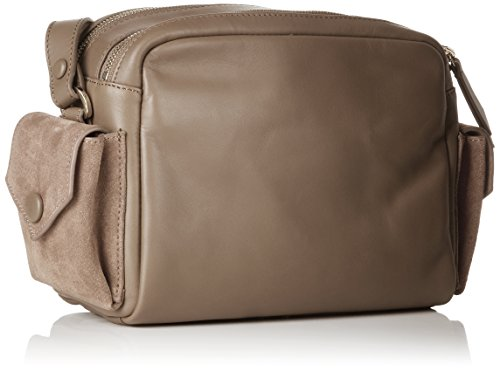 Berlin De Liebeskind Bolso Mujer Cambagm Hombro 9408 cold Grey Marrón Capoes q1wfIBdWpw