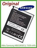 Original - Samsung AB653850CU - CZ Batterie (1440 mAh) pour Samsung GT-i7500 Galaxy / GT-i8000 Omnia II / GT-i9023 Google Nexus S / Player Addict / SGH-i900 Omnia - Garantie: 3 ans!