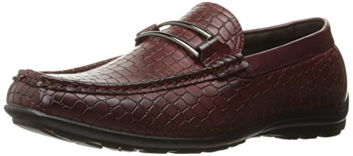 Moc Stacy Slip on Toe Adams Lanzo Loafer Burgundy Men's Bit qwxrwtpc1v