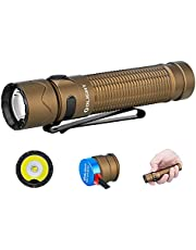 OLIGHT Warrior Mini 2 Rechargeable Tactical 1750 Lumens Compact Flashlight with Dual Switch and Proximity Sensor, MCC Magnetic Charging 3500mAh 18650 Battery EDC Flashlights for Camping, Outdoor, Emergency