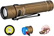 OLIGHT Warrior Mini 2 Rechargeable Tactical 1750 Lumens Compact Flashlight with Dual Switch and Proximity Sens