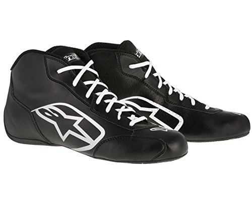 Price comparison product image Alpinestars Tech-1 K Start Boot Black / White UK 8 UK KART STORE