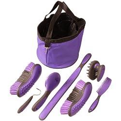 Tough 1 Great Grip Grooming Package (8-Piece), Purple