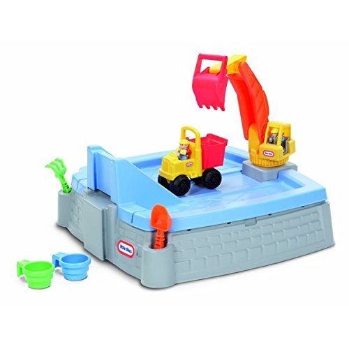 Little Tikes Outdoor Toys Featuring Big Digger Sandbox Includes Dump Truck and Other Accessories, Multicolored, Great for Kid