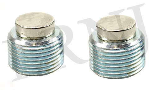 LAND ROVER DEFENDER ALL MODELS FRONT & REAR DIFFERENTIAL DRAIN PLUG SET MAGNETIC TYB500120
