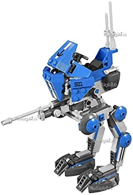 Lego Star War 501st Legion AT-RT Clone Walker Only [ No Minifigure No Box ] LOOSE from 75002 (New Lego Sold Loose as Image Show – No Retail Packaging)