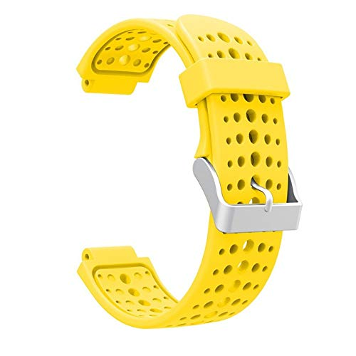 Jewh Watch Strap - Colorful Silicone Replacement - Strap Accessory - Band for Garmin Forerunner 220