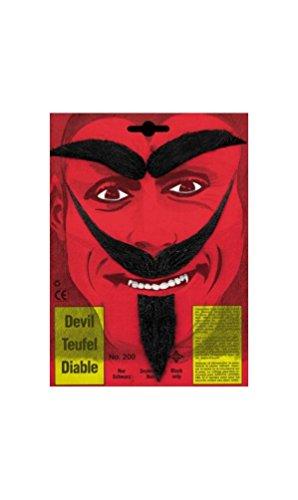 Devil Mustache and Beard