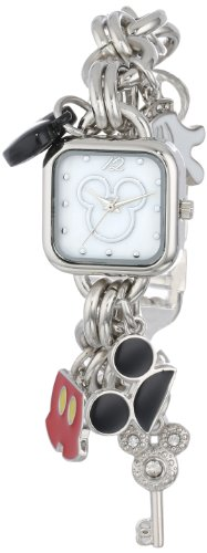 Disney Women's MK2059 Mickey Mouse Charm Bracelet Watch from Disney