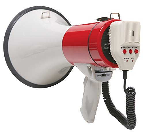 Califone PA20R 3D Ready Short Throw Megaphone with 1000 ft Range]()