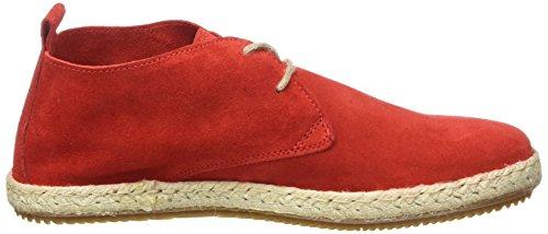 Bensimon 310 rouge Punainen Espadrille Derbys Naisten Nilkkurit qwfPp8qF