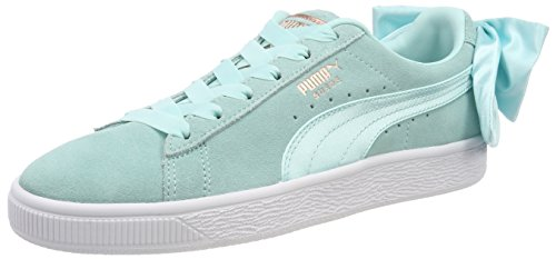 Blue Womens Basket Sneakers PUMA Bow qHIYwxC