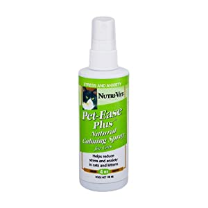 Amazon Com Nutri Vet Pet Ease Natural Calming Spray For