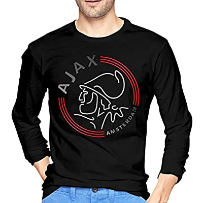 Huaichuanhua AFC Ajax Amsterdam Club Socce Men's Long Sleeve T-Shirts
