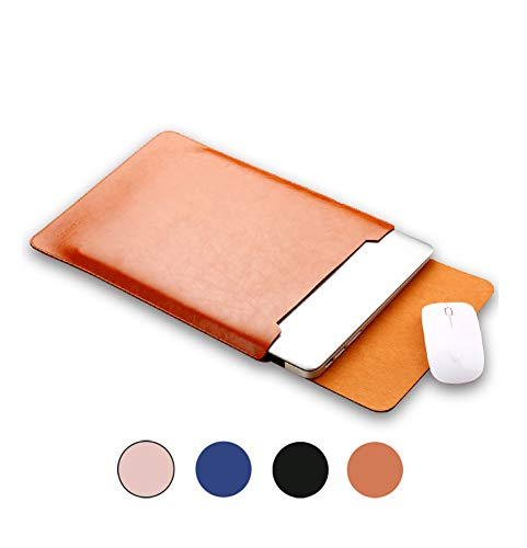 14 15 4 inch Laptop Leather Sleeve