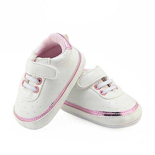 Malloom® Kleinkind Neugeborenes Baby Jungen Mädchen Krippe Winter Stiefel Prewalker Warme Martin Schuhe Rosa