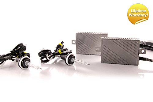 DDM Tuning Plus 35W Premium Canbus HID Kit, Slim AC Ballasts w/Hi-Output Bulbs H11, 5500K (Best Quality Hid Kit)