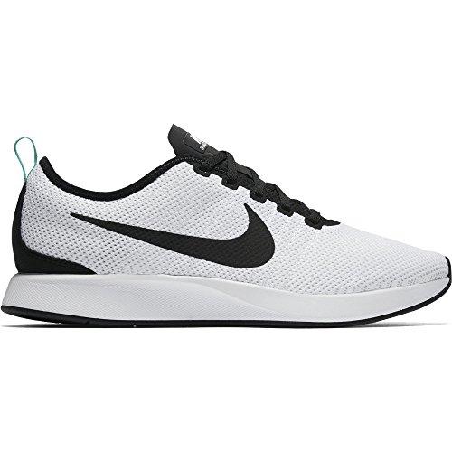 Nike Men's Dualtone Racer Shoe White/Black-Pure Platnum-Menta 11 low-