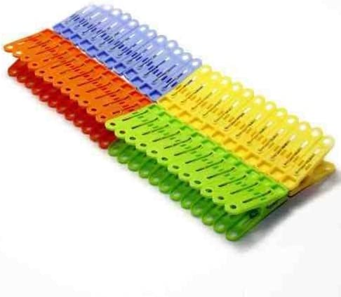 40 x Plastic Clothes Dry Laundry Large Grip Washing Line Peg Pegs Clip