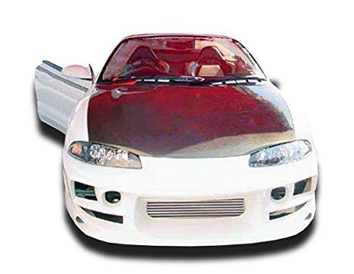 KBD Body Kits Compatible with Mitsubishi Eclipse/Eagle Talon 1995-1999 Bomb Style 4 Piece Flexfit Polyurethane Full Body Kit. Extremely Durable, Easy Installation, Guaranteed Fitment, Made in USA!
