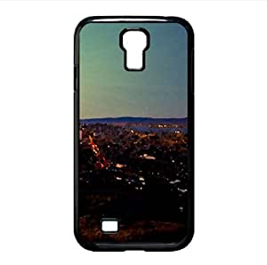 City Panoramic View Watercolor style Cover Samsung Galaxy S4 I9500 Case