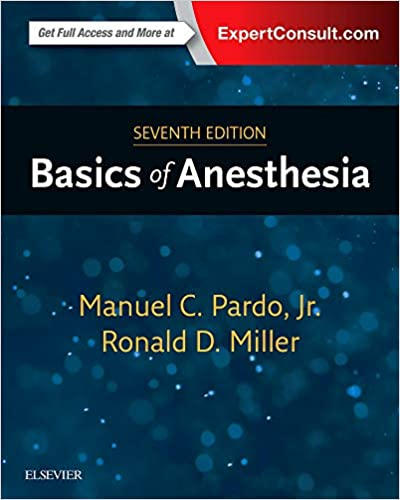 millers anaesthesia 8th edition