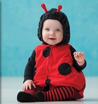 ea9aaf9b7 Amazon.com : Carter's Baby Halloween Costume Lady Bug 3 Pieces NEW ...