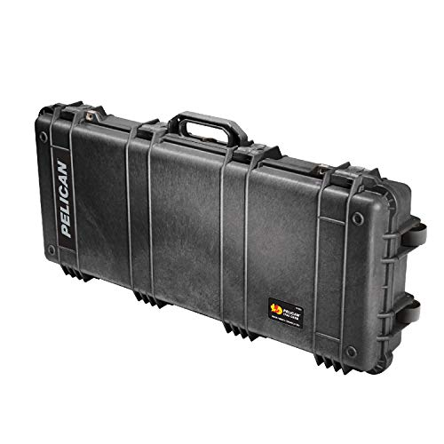 (Pelican 1700 Rifle Case With Foam (Black))